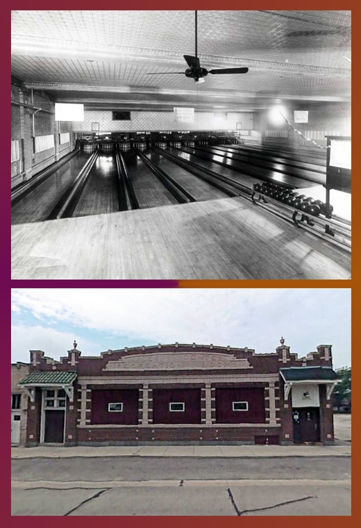 Photo Credit: Skokie History Project, Bowling History