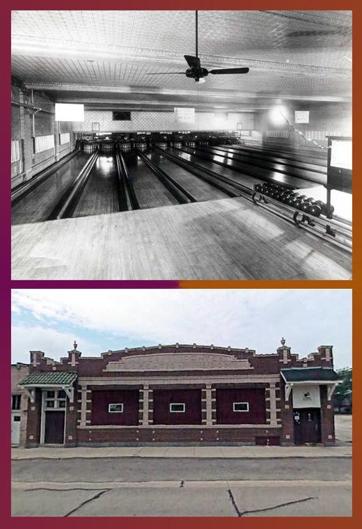 Photo Credit: Skokie History Project, Bowling History