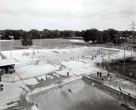Oakton Park Swimming Pools 1956