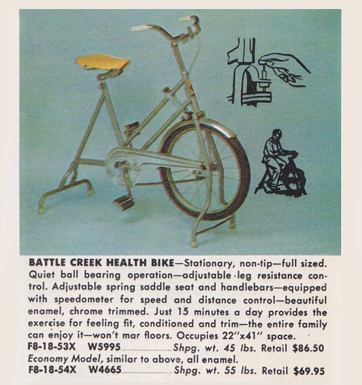 Battle Creek Exercise Bike