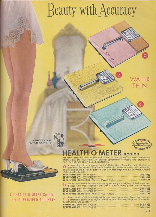 Vintage Health-O-Meter Scales