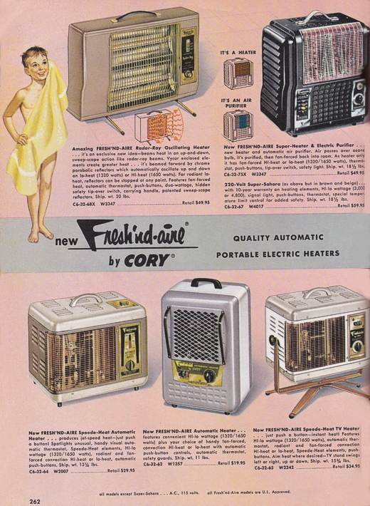Vintage Portable Heaters