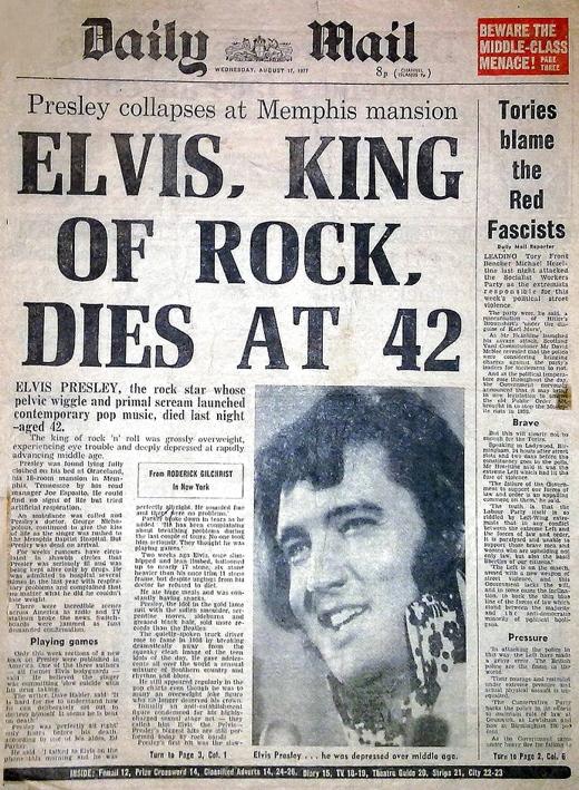 Elvis August 16, 1977