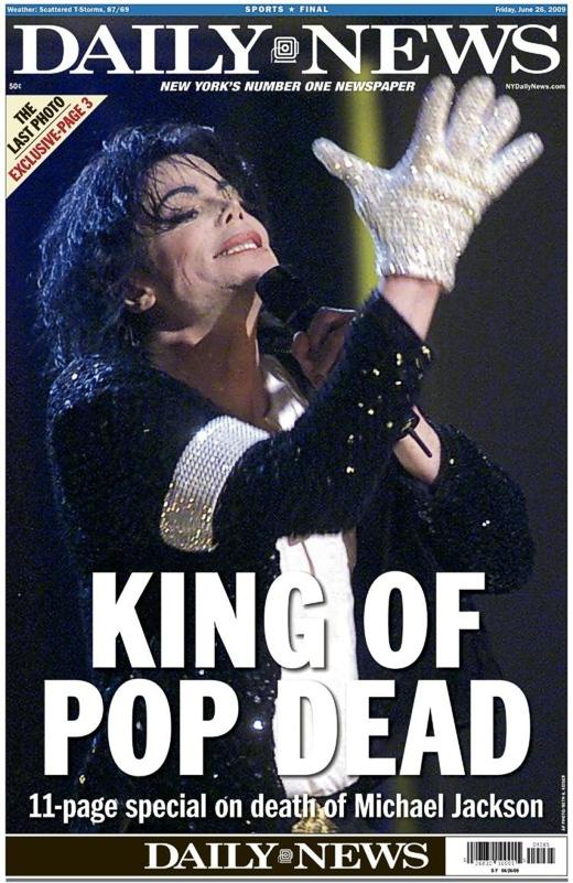 Michael Jackson June 25, 2009