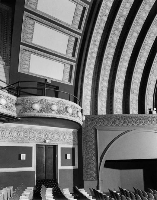 Garrick Theater Auditorium