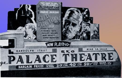 RKO Palace Moving Ad