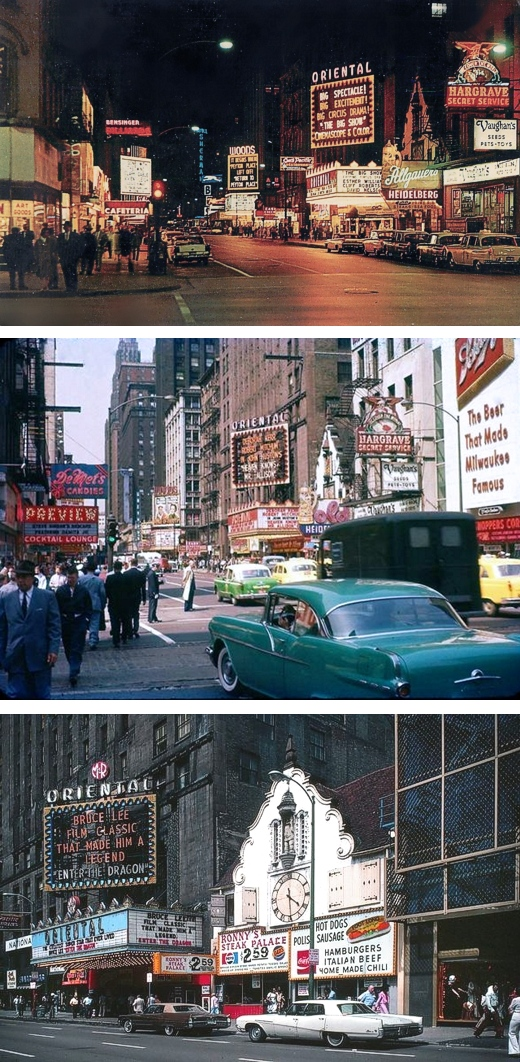 Randolph Street 1950s 1957 1970s