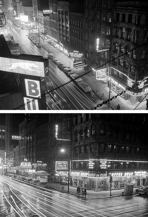 Randolph Street at Night