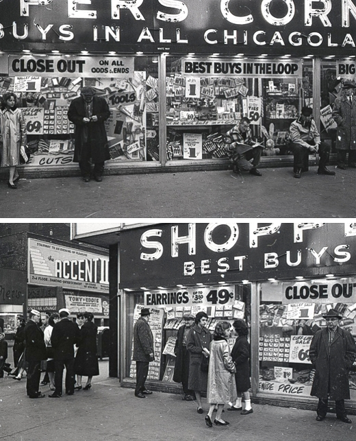 Shoppers Corner 1962