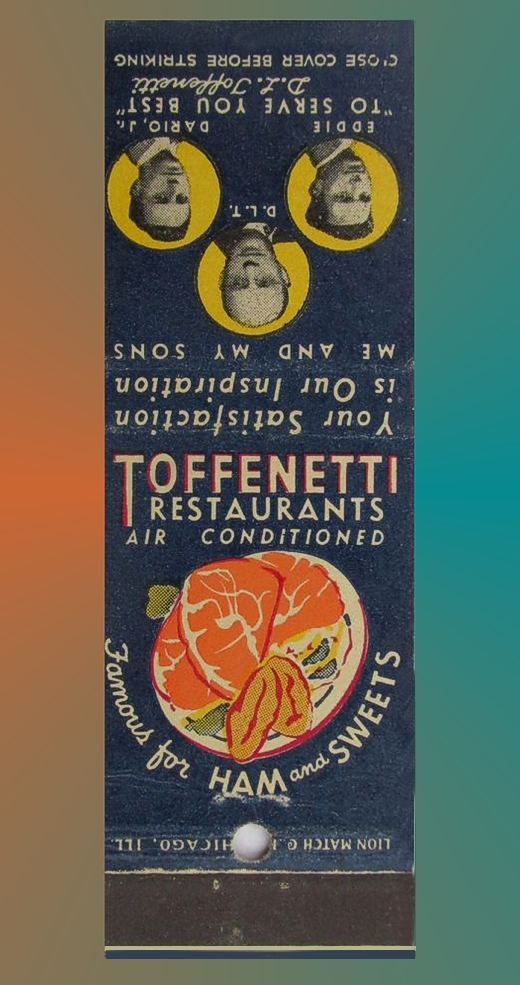 Toffenetti Matchbook