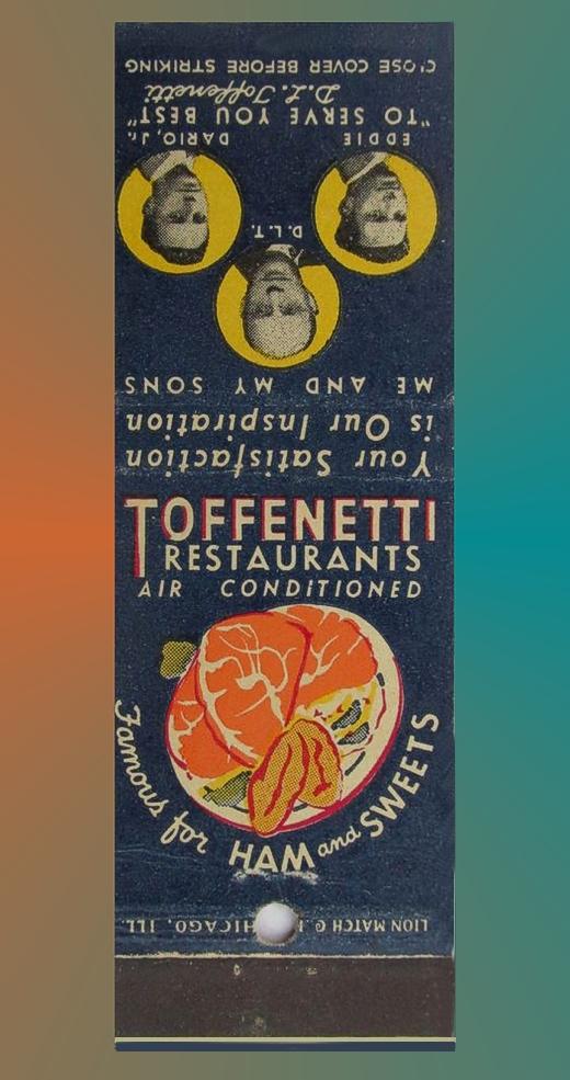 Toffenetti Matchbook