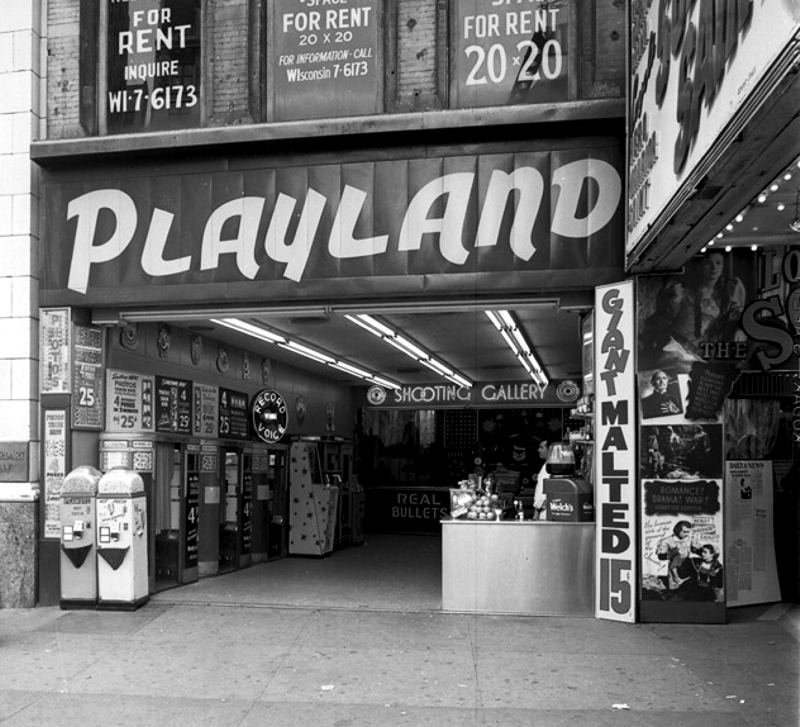 Playland 1565 Broadway NYC