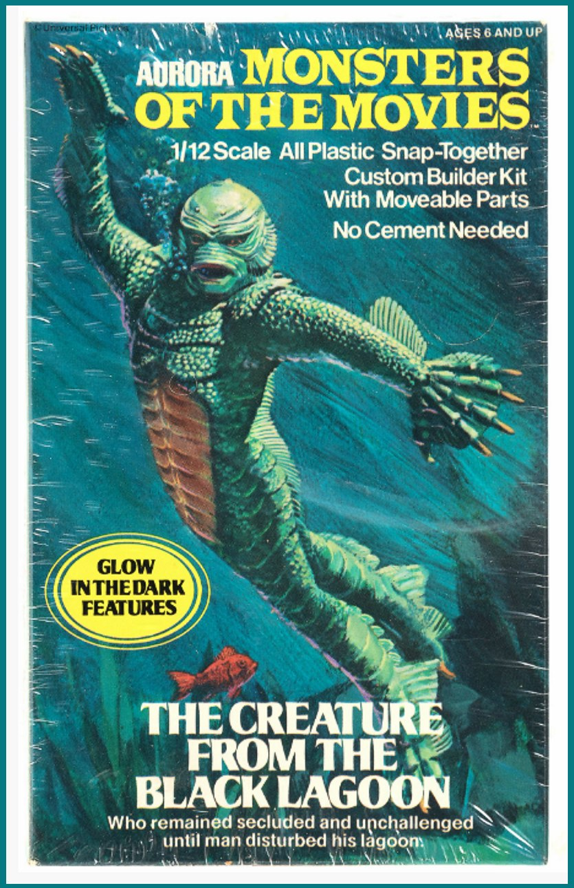 Aurora Creature From the Black Lagoon