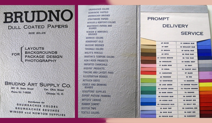 Brudno Paper Samples