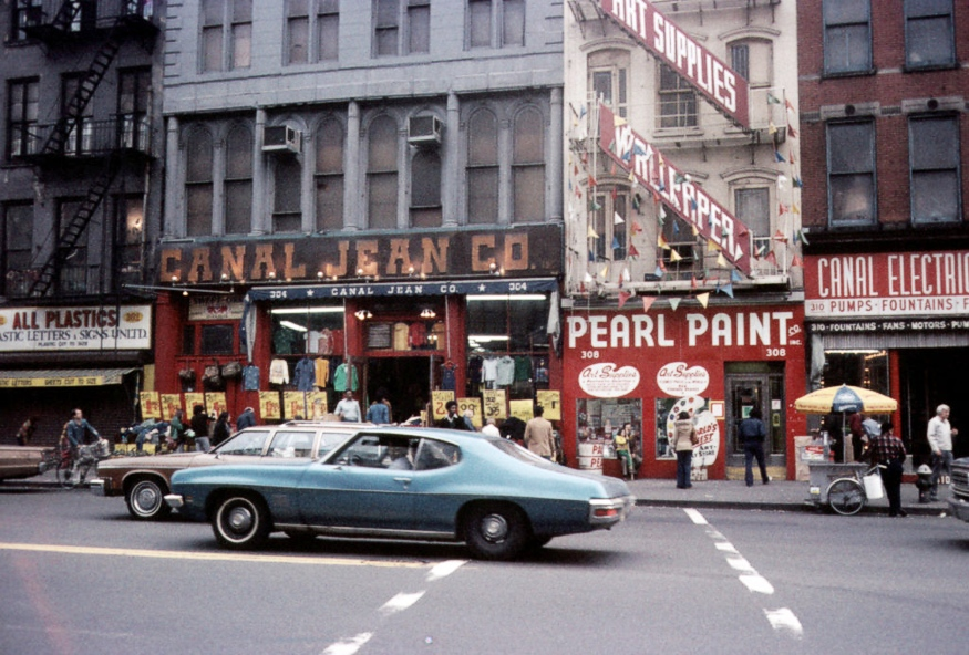 Pearl Paint Canal Street